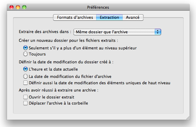 decompresseur fichier rar mac